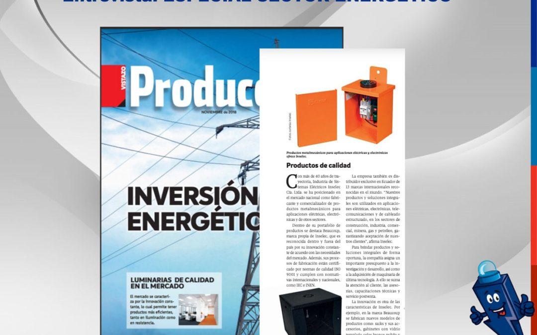 Entrevista – Especial Sector Energético