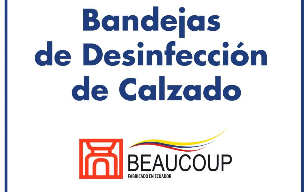 BANDEJAS DE DESINFECCION DE CALZADO