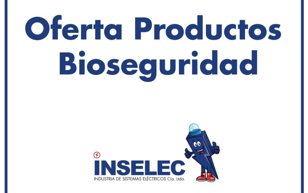 PRODUCTOS BIOSEGURIDAD INSELEC