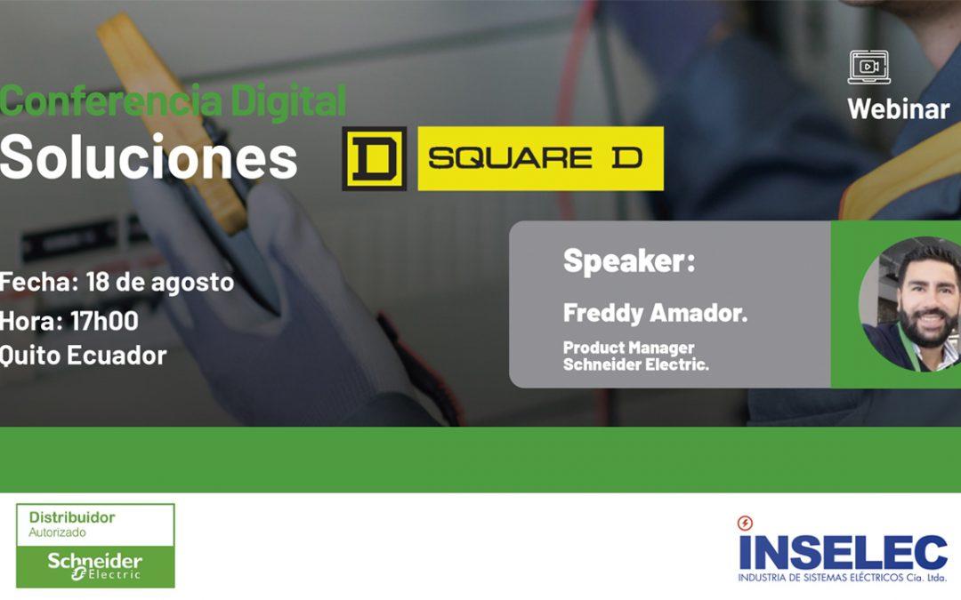 Conferencia Digital Soluciones Square D